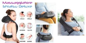 Massaggiatore Shiatsu Deluxe: cuscino massaggiante per tutto il corpo, funziona davvero? Caratteristiche, opinioni e dove comprarlo