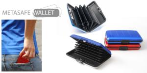 MetaSafe Wallet: Portafoglio rigido porta carte di credito, funziona davvero? Caratteristiche, opinioni e dove comprarlo