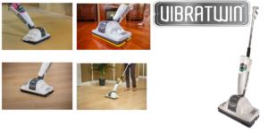 VibraTwin: Scopa lavapavimenti con oltre 1100 vibrazioni di lavaggio al minuto, funziona davvero? Caratteristiche, opinioni e dove comprarlo