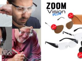 Zoom Vision Plus: occhiali con luce led che ingrandiscono fino al 160%, funzionano davvero? Caratteristiche, opinioni e dove comprarli