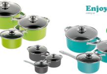 Enjoy cooking set: batteria di pentole antiaderente, funziona davvero? Caratteristiche, opinioni e dove comprarla