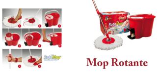 Mop Rotante 360°: kit pavimento con mocio e secchio per lavaggio e asciugatura, funziona davvero? Caratteristiche, opinioni e dove comprarlo