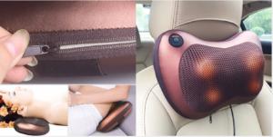 Cuscino Shiatsu: Cuscino da massaggio con testine rotanti, funziona davvero? Caratteristiche, opinioni e dove comprarlo