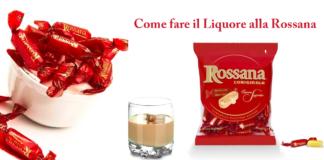 Come fare il Liquore alla Rossana in casa: cosa occorre e procedimento