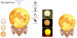MoonLight Home: Umidificatore a forma di Luna, funziona davvero? Che cos'è, a cosa serve e dove comprarlo