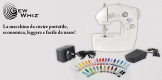 Sew Whiz: macchina da cucire portatile senza fili, funziona davvero? Opinioni, Caratteristiche, prezzo e dove comprarla