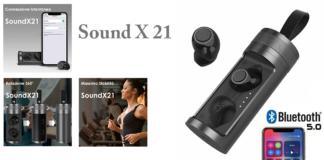 Sound X21: auricolari bluetooth V5.0 con base di ricarica, funzionano davvero? Caratteristiche, opinioni e dove comprarli