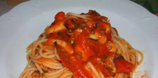 Come fare gli Spaghetti con Seppie e Pomodorino: cosa occorre e procedimento
