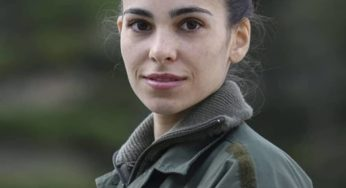 Alice Paniccia, in divisa nel reality La Caserma
