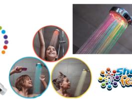 Shower Festival: soffione doccia con luci multicolore a LED, funziona davvero? Caratteristiche, recensioni e dove comprarlo