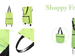 Shoppy Free: Carrello per la spesa pieghevole e richiudibile con ruote, funziona davvero? Caratteristiche, opinioni e dove comprarlo