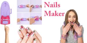 Nails Maker: macchina per decorare le unghia, funziona davvero? Caratteristiche, opinioni e dove comprarla