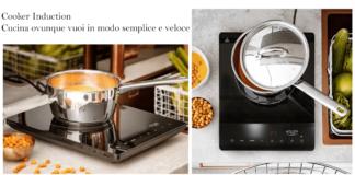 Cooker Induction: fornello a induzione portatile, funziona davvero? Caratteristiche, opinioni, prezzo e dove comprarlo