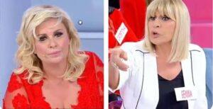 Gemma Galgani giudica il modo di vestire di Tina Cipollari: