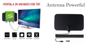 Antenna Powerful per la ricezione dei canali Tv, funziona davvero? Opinioni, offerta, prezzo e dove comprarlo